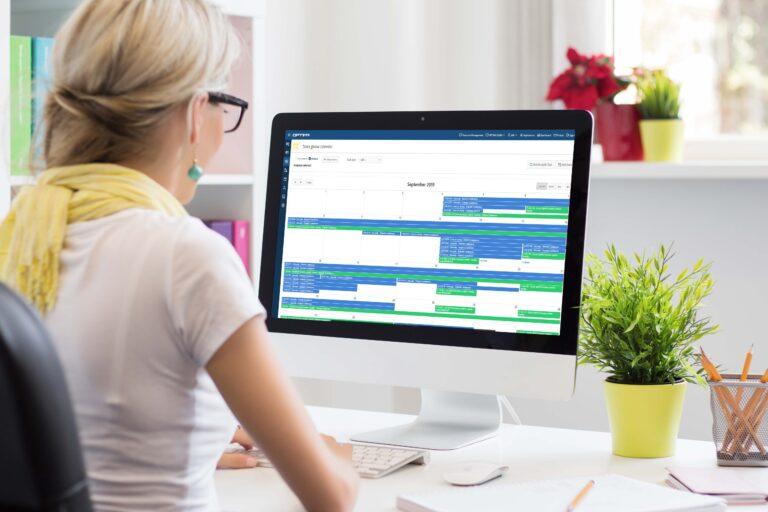 Lab resource scheduler